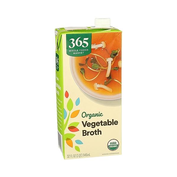 Organic Broth, Vegetable, 32 fl oz 2