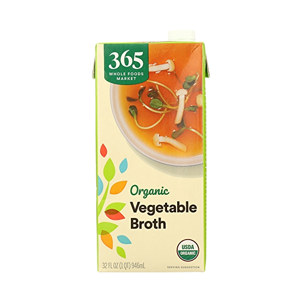 Organic Broth, Vegetable, 32 fl oz 3