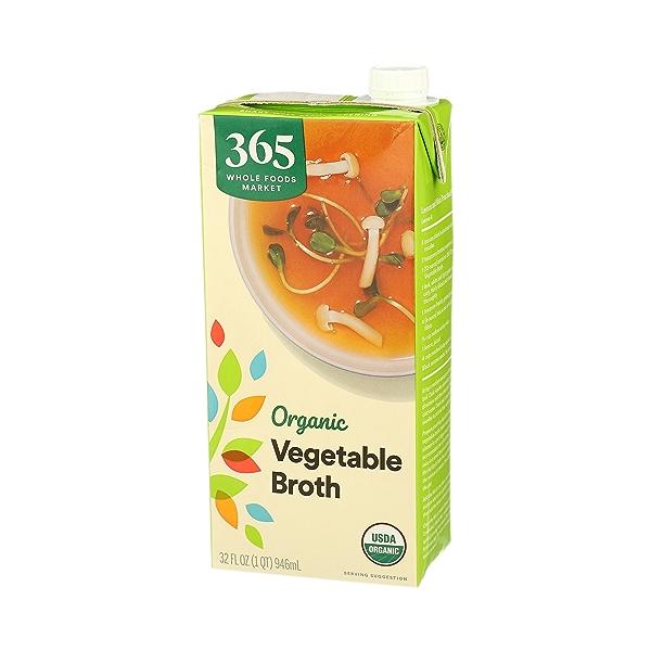 Organic Broth, Vegetable, 32 fl oz 4