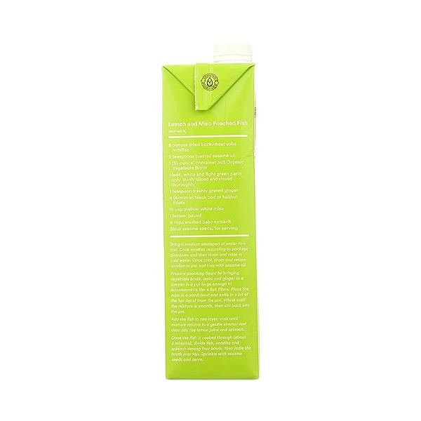 Organic Broth, Vegetable, 32 fl oz 8
