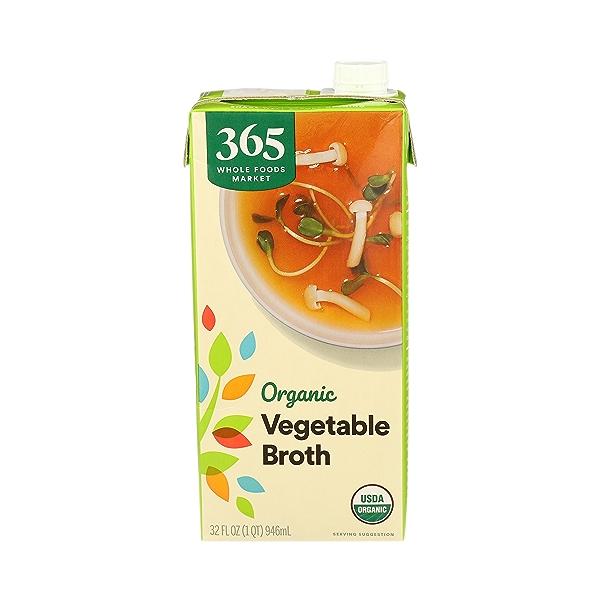 Organic Broth, Vegetable, 32 fl oz 1