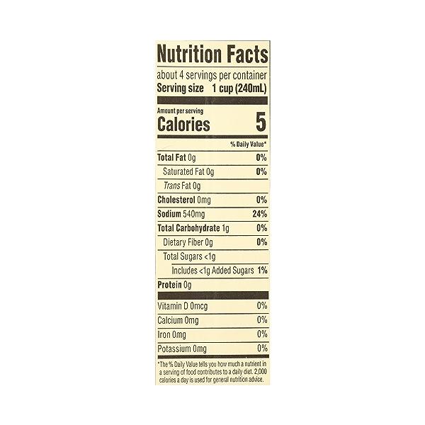 Organic Broth, Vegetable, 32 fl oz 10