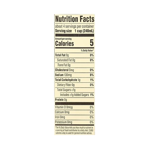 Organic Broth, Vegetable - Low Sodium, 32 fl oz 10