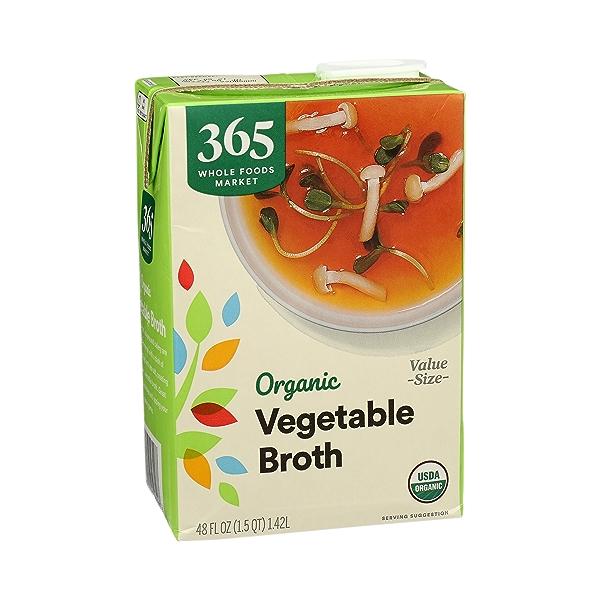 Organic Broth, Vegetable (Value Size), 48 fl oz 2