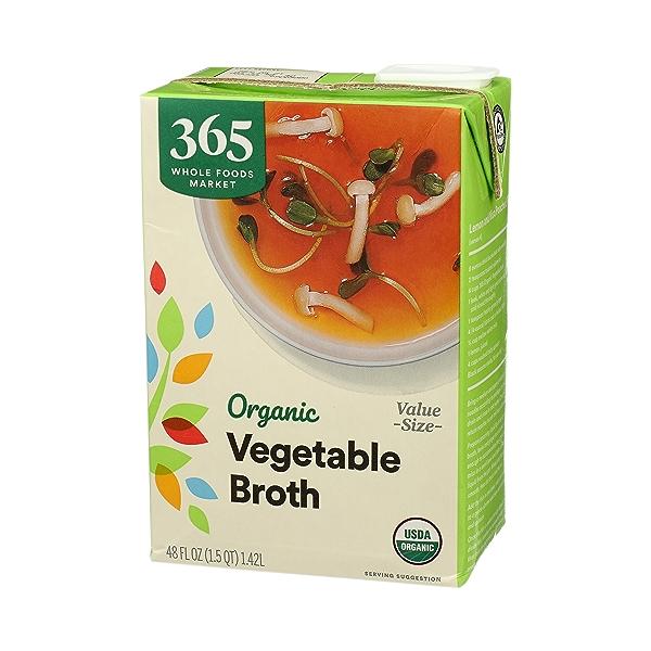 Organic Broth, Vegetable (Value Size), 48 fl oz 4
