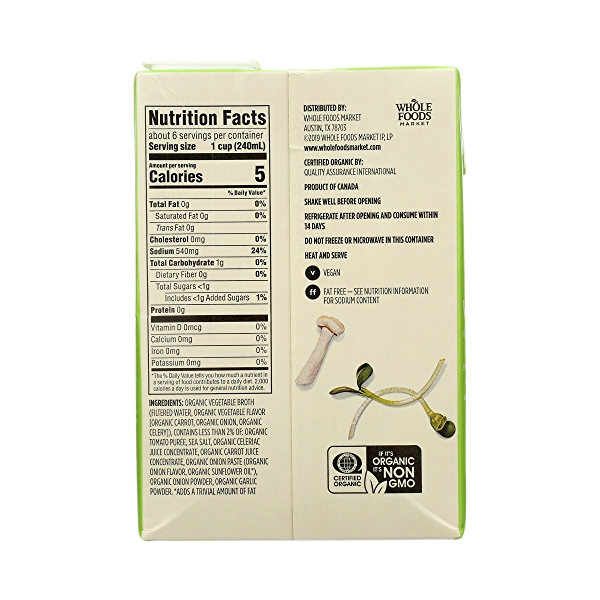 Organic Broth, Vegetable (Value Size), 48 fl oz 7
