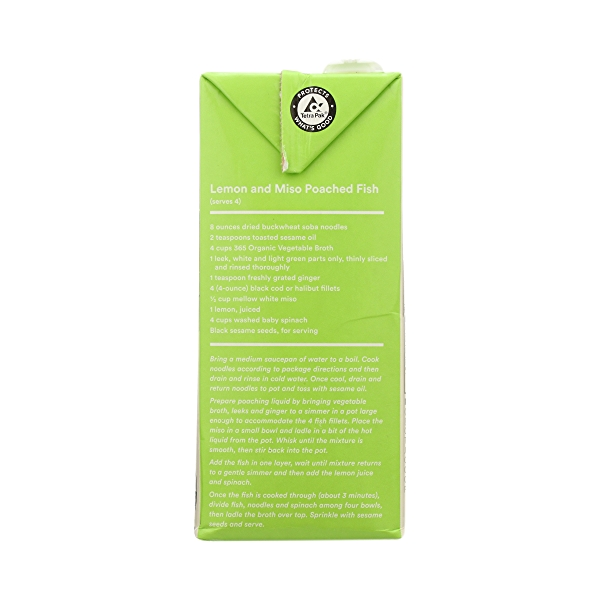 Organic Broth, Vegetable (Value Size), 48 fl oz 8