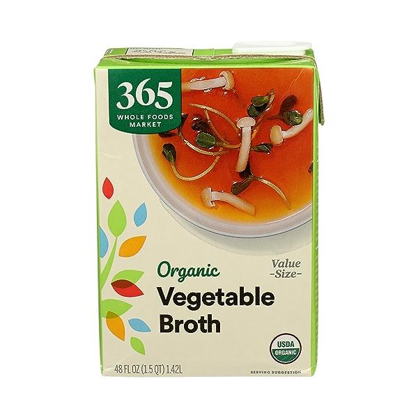 Organic Broth, Vegetable (Value Size), 48 fl oz 1