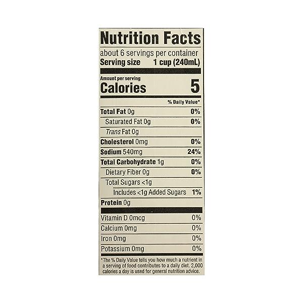 Organic Broth, Vegetable (Value Size), 48 fl oz 10