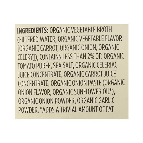 Organic Broth, Vegetable (Value Size), 48 fl oz 12