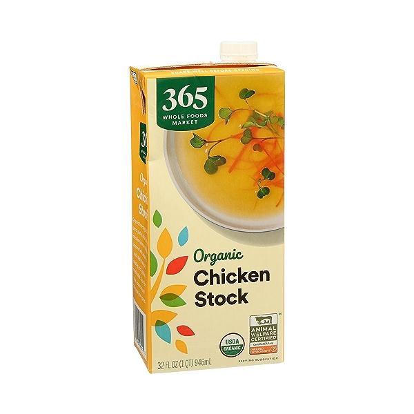 Organic Stock, Chicken, 32 fl oz 2