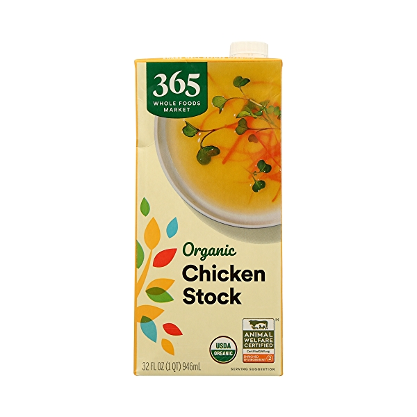 Organic Stock, Chicken, 32 fl oz 3