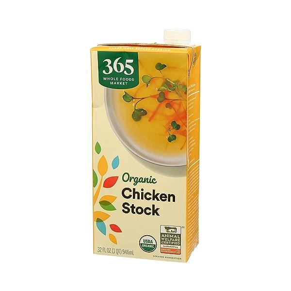 Organic Stock, Chicken, 32 fl oz 4