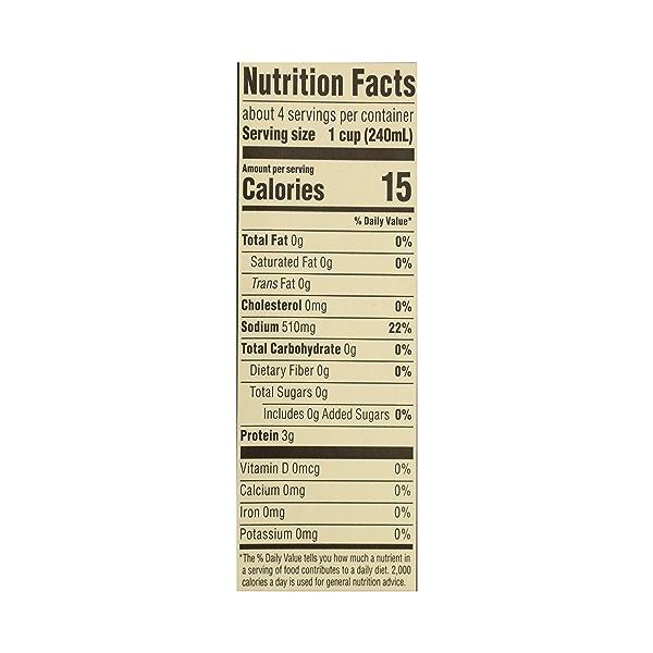 Organic Stock, Chicken, 32 fl oz 10