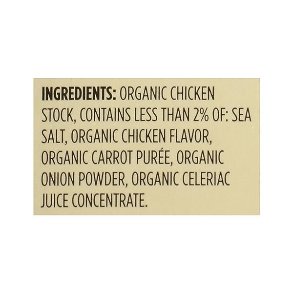 Organic Stock, Chicken, 32 fl oz 12