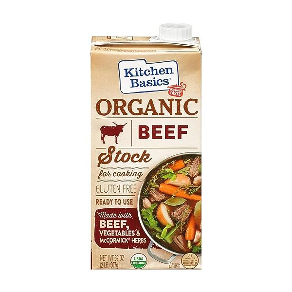 Organic Beef Stock, 32 oz 1