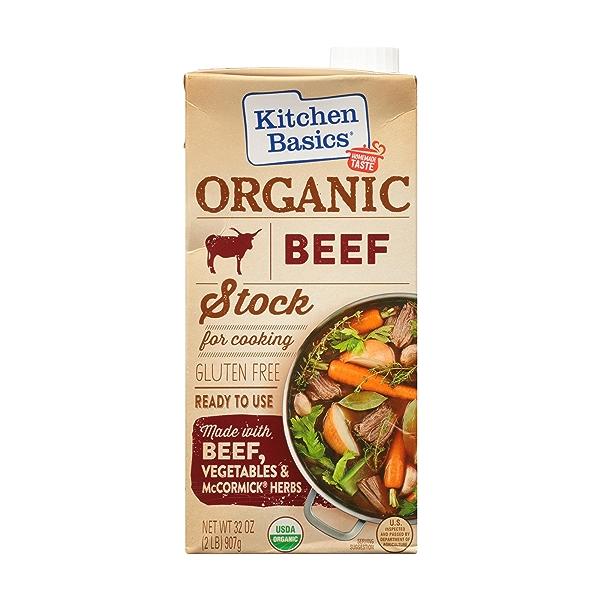 Organic Beef Stock, 32 oz 2