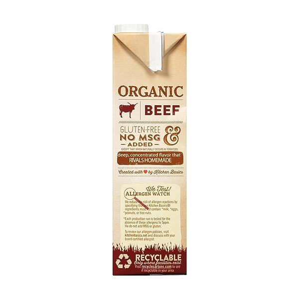Organic Beef Stock, 32 oz 3