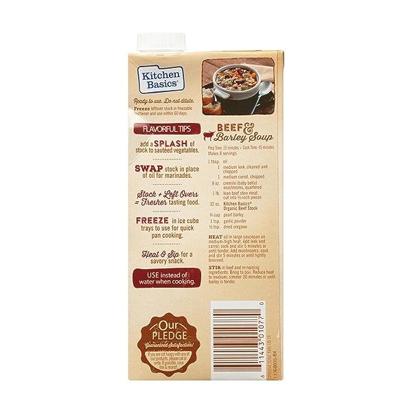 Organic Beef Stock, 32 oz 4