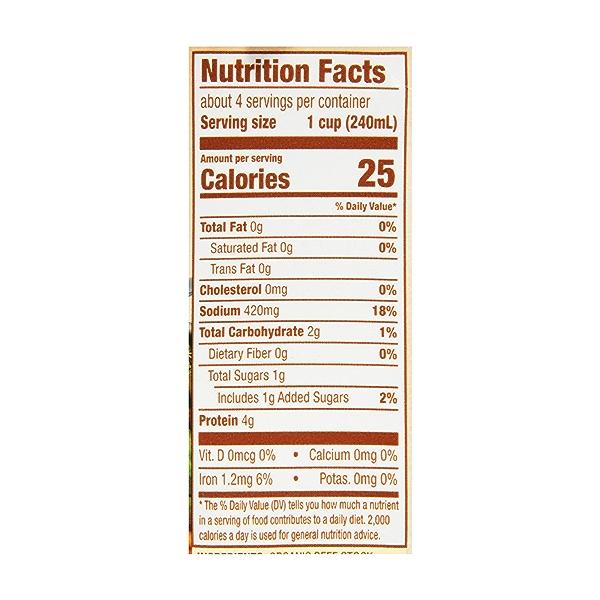 Organic Beef Stock, 32 oz 6