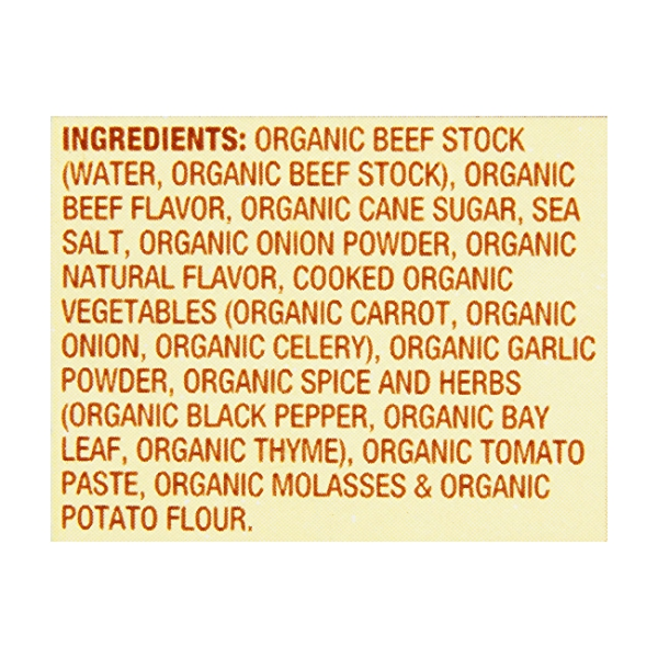 Organic Beef Stock, 32 oz 7