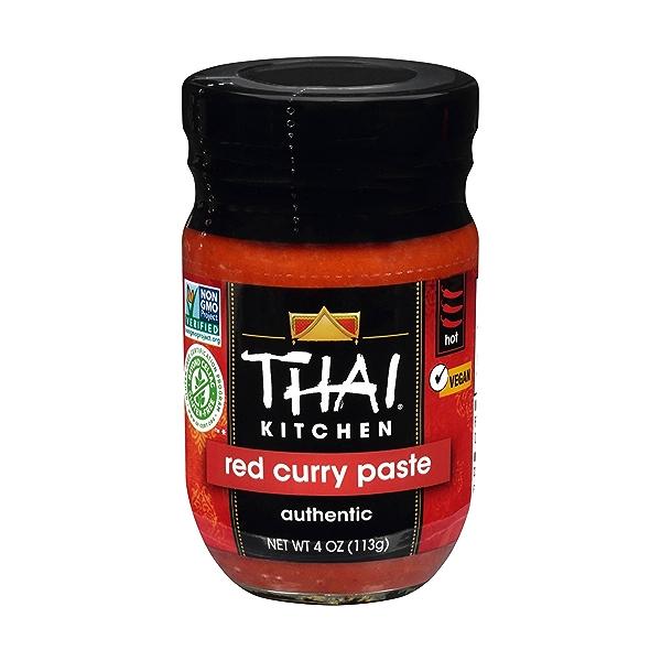 Gluten Free Red Curry Paste, 4 oz 1