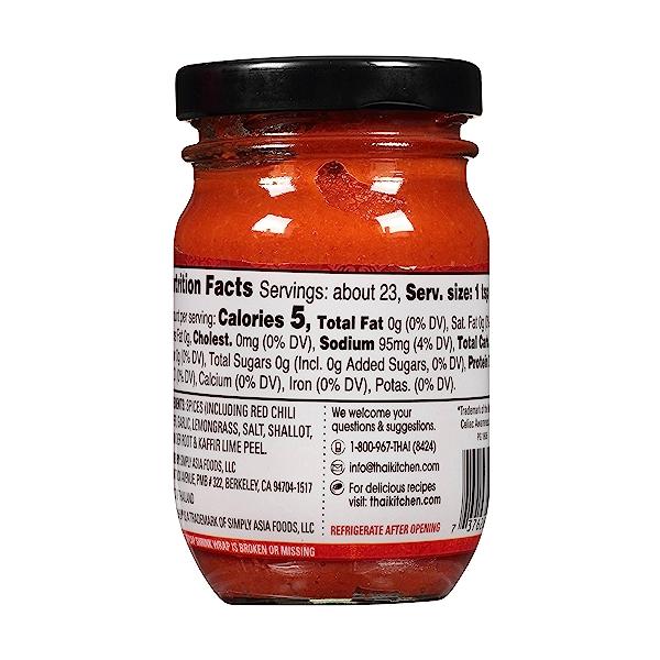 Gluten Free Red Curry Paste, 4 oz 4