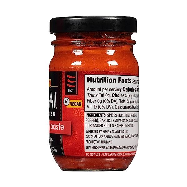 Gluten Free Red Curry Paste, 4 oz 5