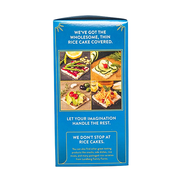 Organic Lightly Salted Brown Rice Thin Stackers, 6 oz 4