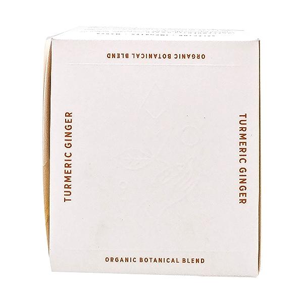 Organic Caffeine-free Turmeric Ginger Herbal Tea, 1.74 oz 5
