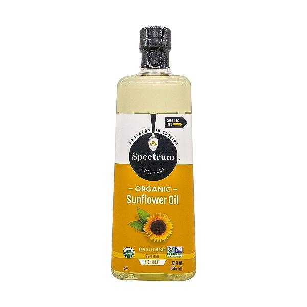 Organic Refined Sunflower Oil (32 Oz) 1