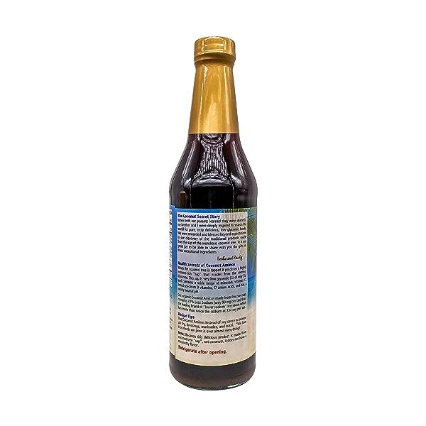 Coconut Aminos Soy Free Seasoning Sauce, 16.9 fl oz 3