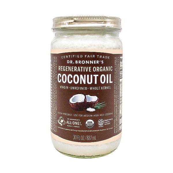 Organic Coconut Oil, 30 fl oz 1