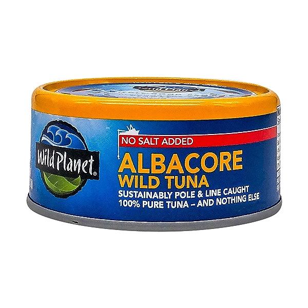Wild Albacore Tuna - No Salt Added 1