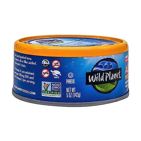 Wild Albacore Tuna - No Salt Added 4