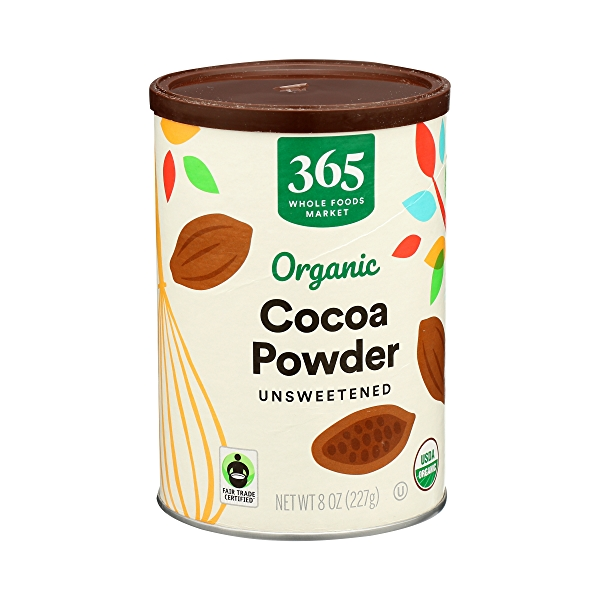Organic Cocoa Powder, Unsweetened, 8 oz 2