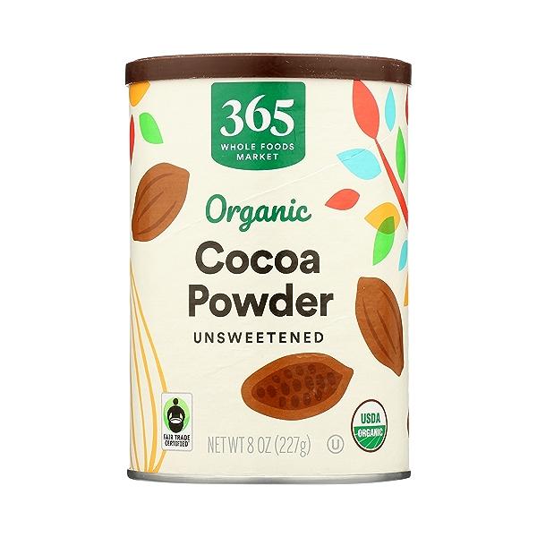 Organic Cocoa Powder, Unsweetened, 8 oz 3