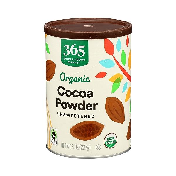 Organic Cocoa Powder, Unsweetened, 8 oz 4