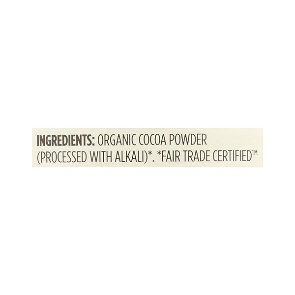 Organic Cocoa Powder, Unsweetened, 8 oz 12
