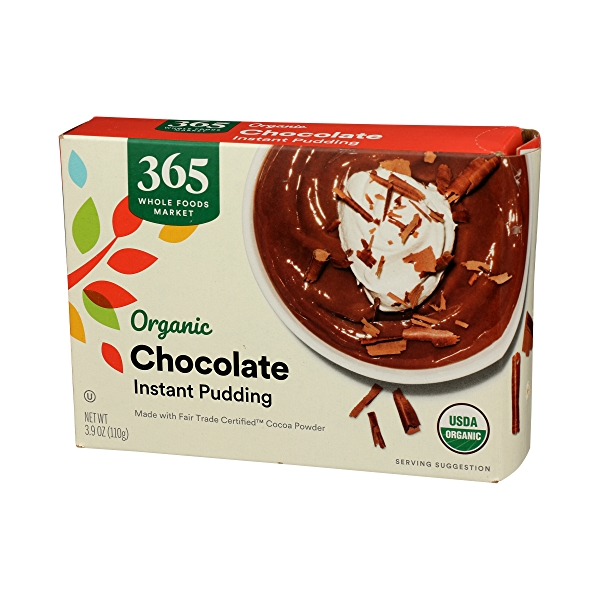 Organic Instant Pudding, Chocolate, 3.9 oz 4