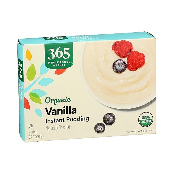 Organic Instant Pudding, Vanilla, 3.7 oz 2