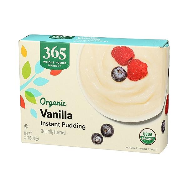 Organic Instant Pudding, Vanilla, 3.7 oz 4