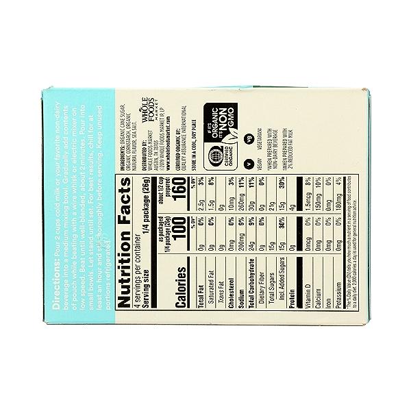 Organic Instant Pudding, Vanilla, 3.7 oz 7