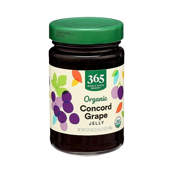 Organic Jelly, Concord Grape, 17.5 oz 2