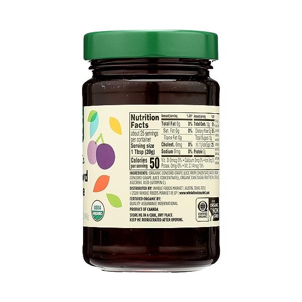 Organic Jelly, Concord Grape, 17.5 oz 8