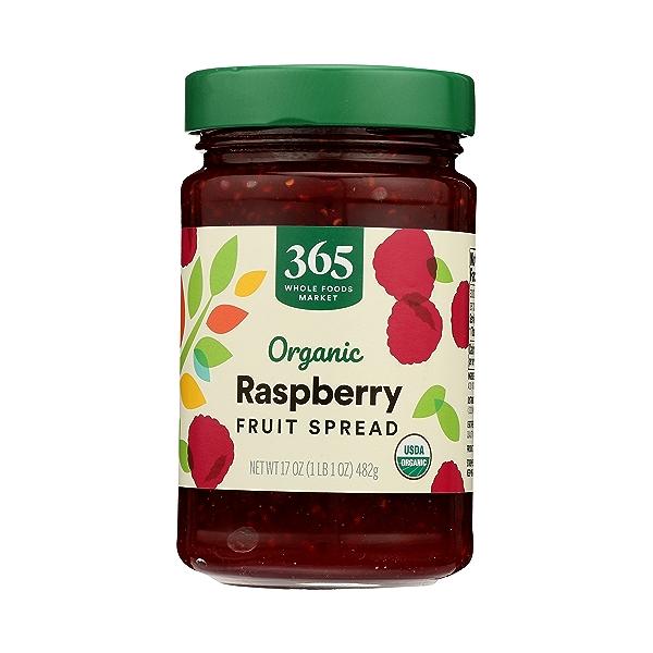 Organic Fruit Spread, Raspberry, 17 oz 3
