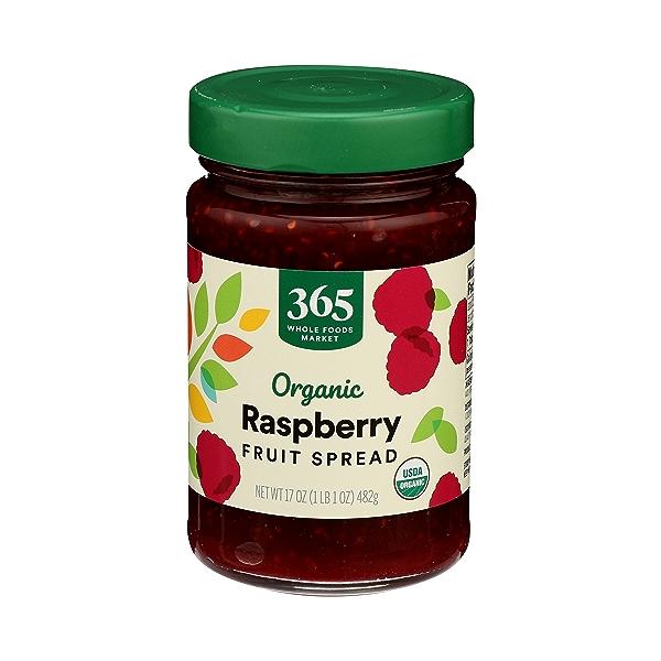 Organic Fruit Spread, Raspberry, 17 oz 1