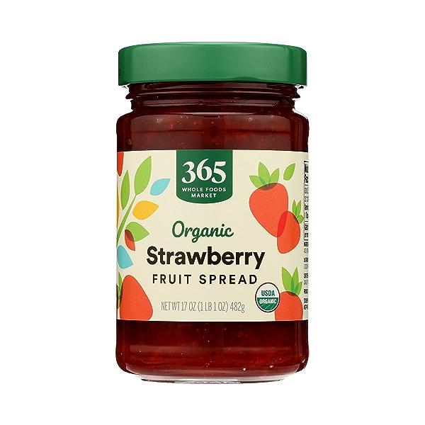 Organic Fruit Spread, Strawberry, 17 oz 3