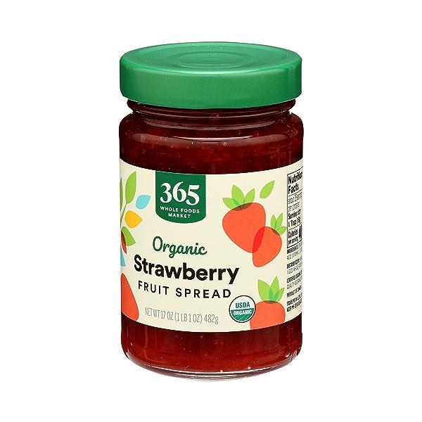 Organic Fruit Spread, Strawberry, 17 oz 4