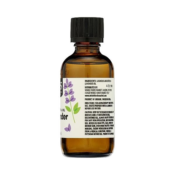 Aromatherapy 100% Essential Oil, Lavendar, 2 fl oz 8